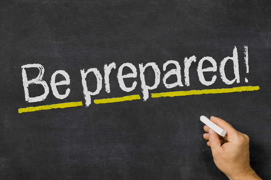 Be Prepared for the Unexpected!!